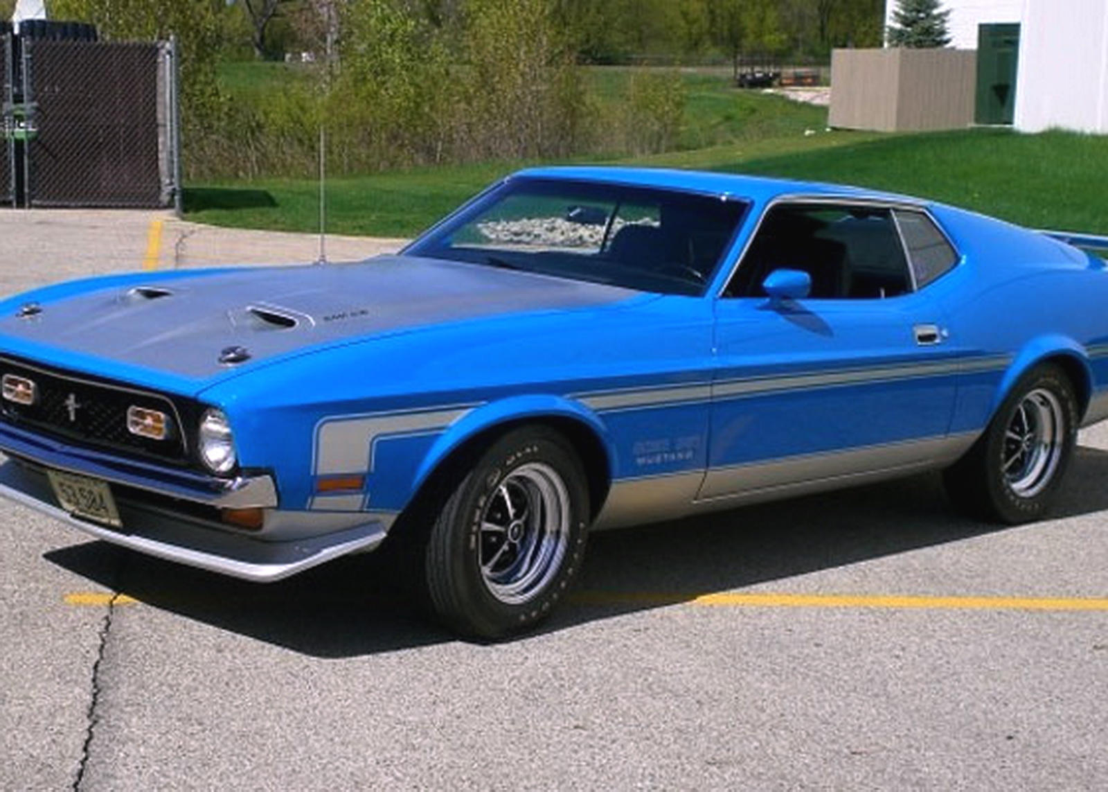 fastest ford mustangs part 1 1971 ford mustang boss 351. Black Bedroom Furniture Sets. Home Design Ideas