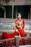 Ảnh đẹp girl xinh Áo dài truyền thống Việt Nam - Ảnh 07