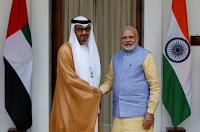 India-UAE signed on 14 agreements