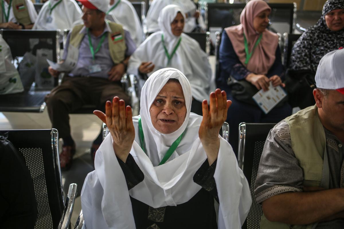 Arab Saudi Larang 300.000 Warga Palestina ke Mekah