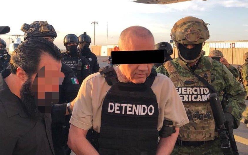 """""""El Licenciado"""" negocia para declarar contra """"El Chapo"""" en EU."""
