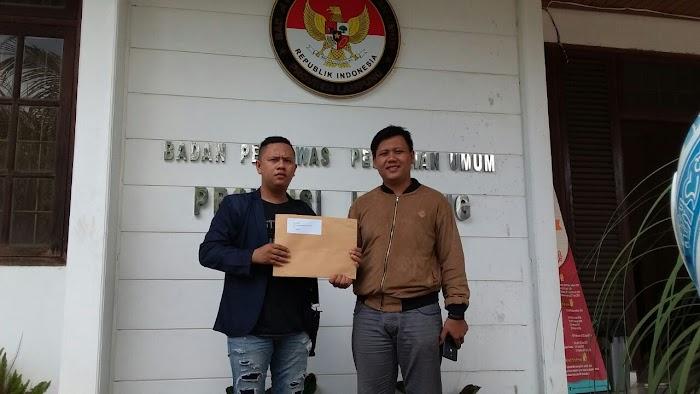 GPN  Laporkan KPU Pesawaran ke Bawaslu Provinsi