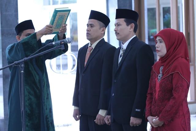 Rektor Unsyiah Lantik Efendi Hasan sebagai Wakil Dekan FISIP