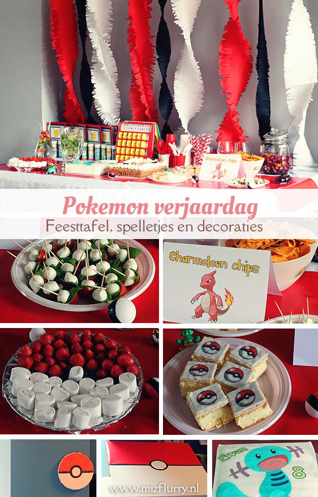 pokemon verjaardag feestje