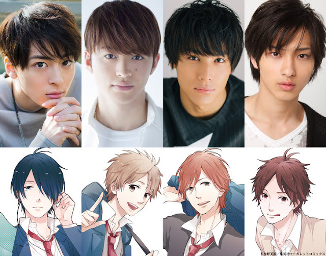 Nijiiro Days ganha filme Live action!