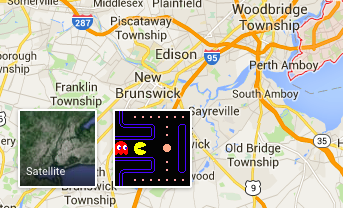Play Pac-Man in Google Maps on google drive map, google story map, autocad map, google maps map, google love map, google earth map, google sketch map, google run map, navigation map, google make map, google hotel map, google move map, mac map, google walk map, google volume map, google fish map,
