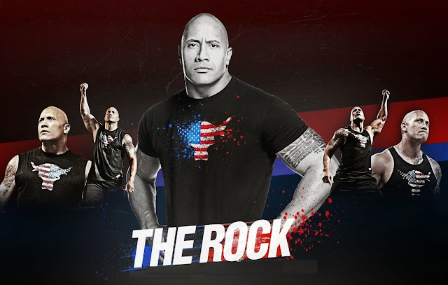 The Rock WWE Dwayne Johnson