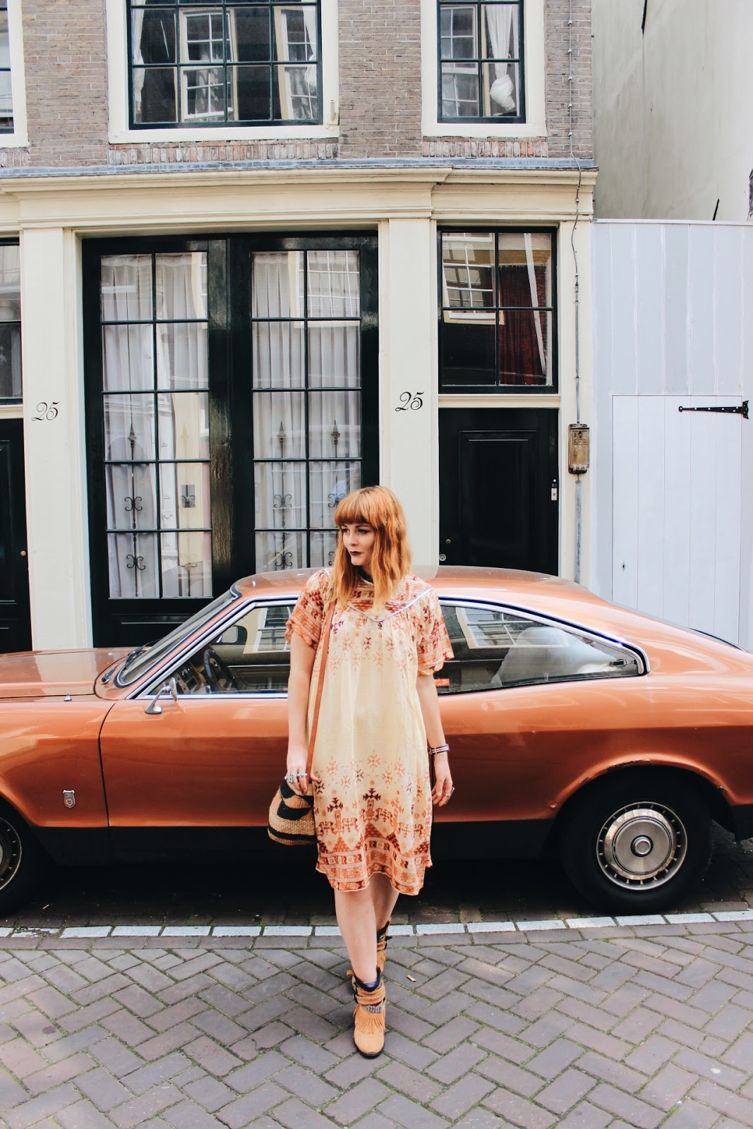 Vintage Street Style Blogger in Amsterdam