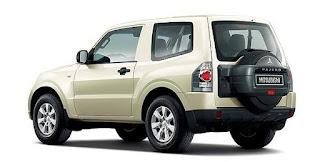 Mitsubishi Pajero: 3-door