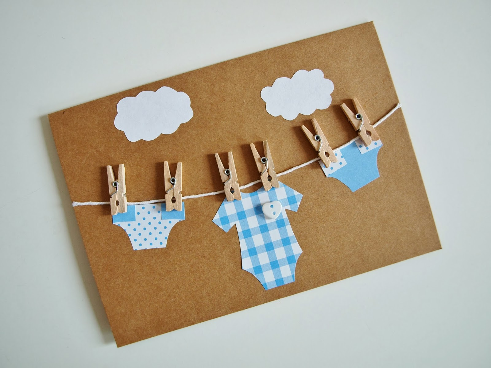Crafted by Carly: Three Handmade Baby Cards