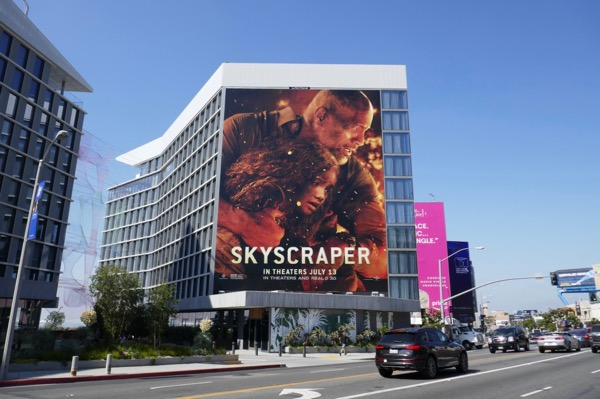 Giant Skyscraper movie billboard