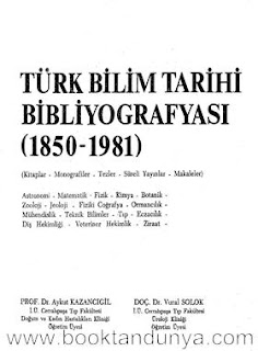 Aykut Kazancıgil, Vural Solok -  Turk bilim tarihi bibliyografyası