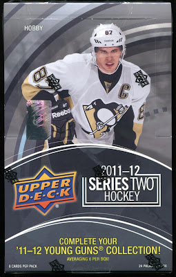 2011-12 Upper Deck Series 2 - Box Break #2