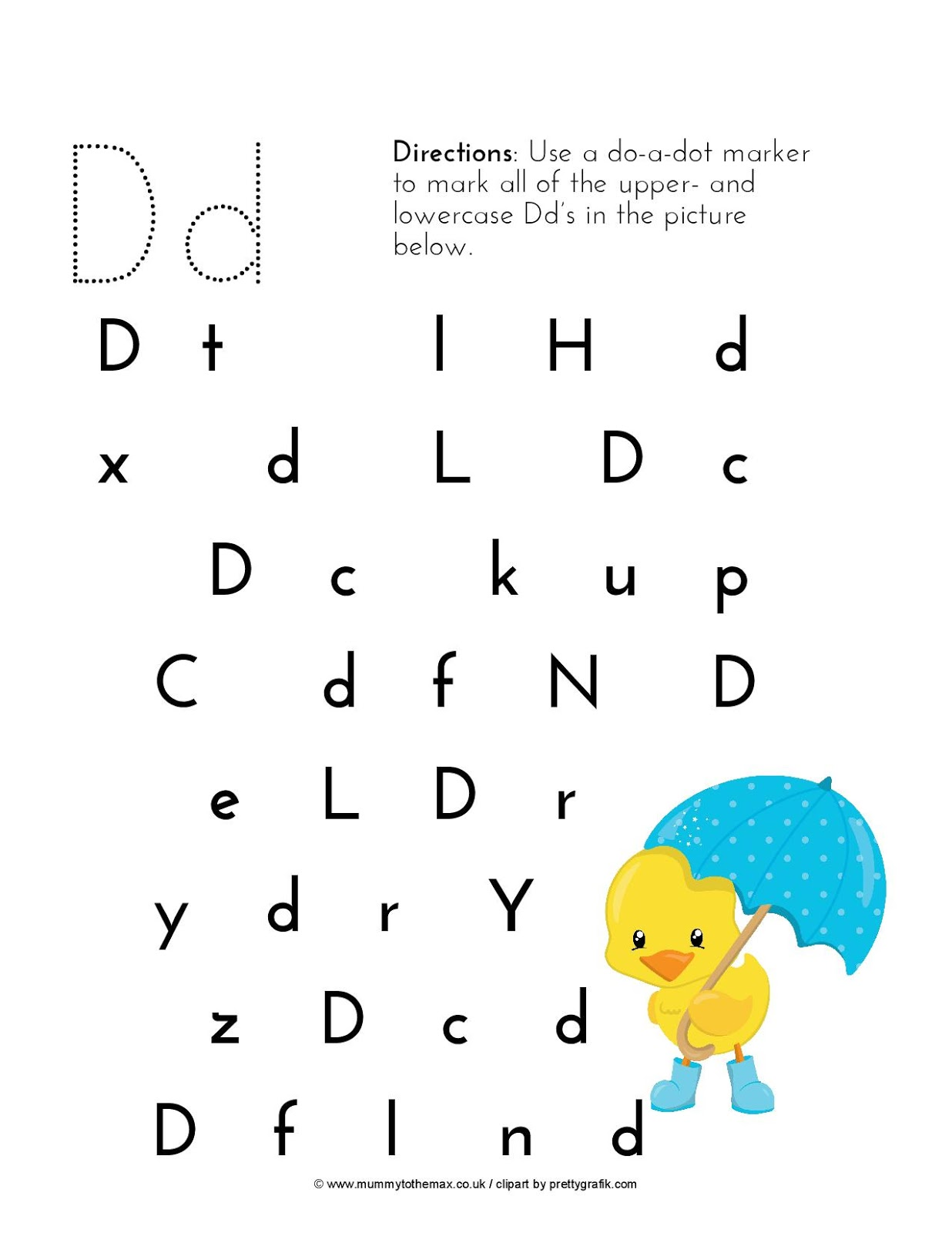 Letter Hunt Amp Free Printable