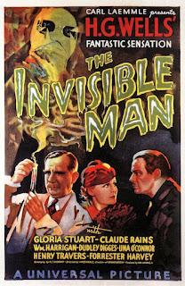 Cartel original de El Hombre Invisible, película dirigida por James Whale