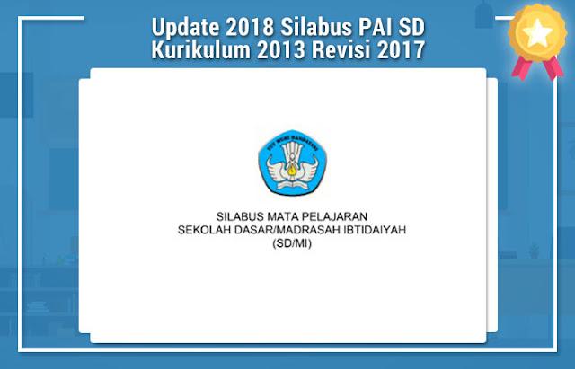Update 2018 Silabus PAI SD Kurikulum 2013 Revisi 2017