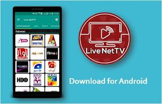 شاهد أكثر من 800 قناة مجانا عبر تطبيق Live Net Tv