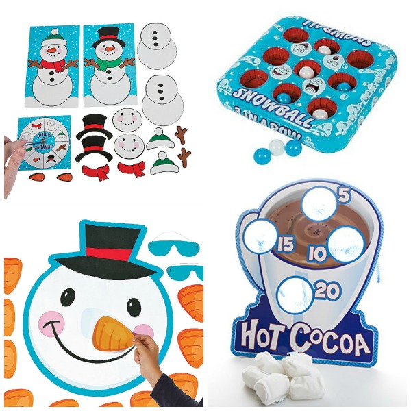 30+ WINTER PARTY GAMES FOR KIDS: tons of ideas!  PIN! #wintergamesforkids #Winteractivitiesforkids
