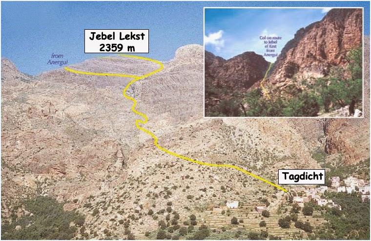 Parcours Jebel Lekst