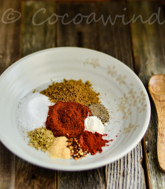 Homemade Taco Seasoning:Cocoawind