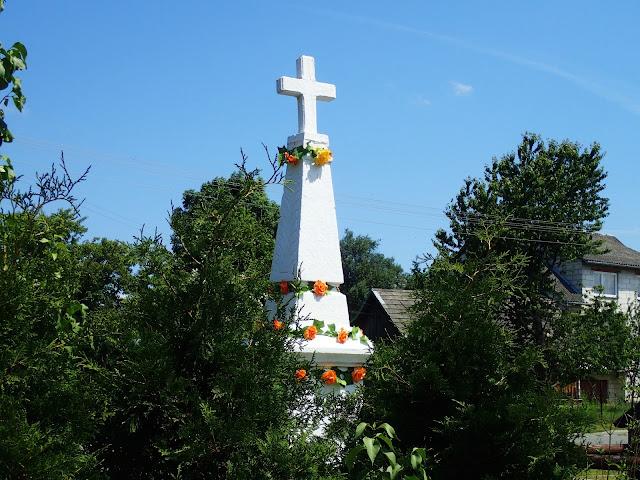 Krzyże w Paarach są zróżnicowane na austriackie i rosyjskie