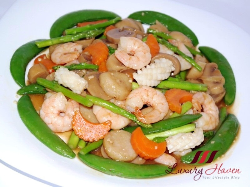 stir fry vegetables with seafood recipes