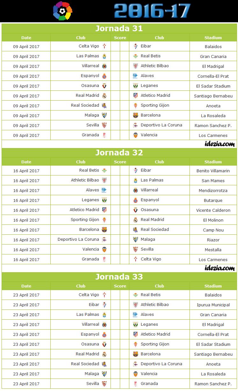 spanish la liga matches
