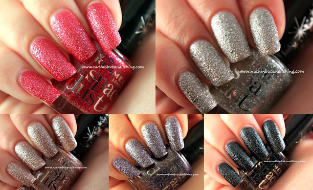 Rimmel Space Dust - Full Collection Swatches