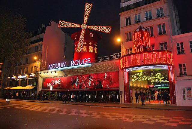 kabarety w Paryżu
