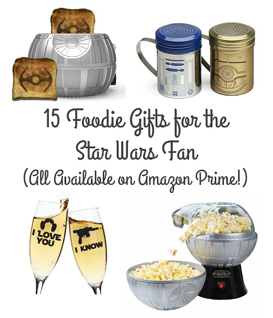 Whether you are a huge Star Wars fan yourself or you happen to have one on your holiday gift list this year, you are going to love this collection of 15 foodie gifts for the Star Wars fan.