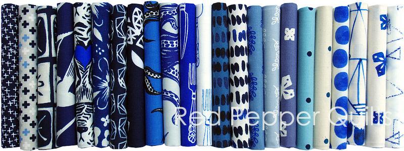 Bluebird - Cotton + Steel 2015  | Red Pepper Quilts