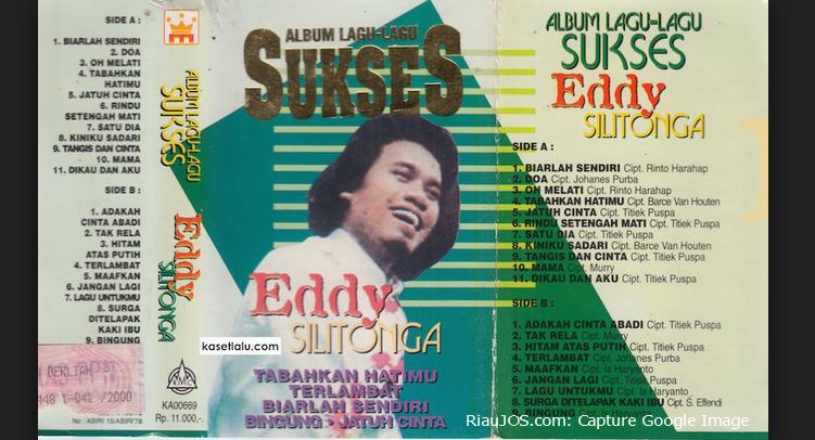 Dunia kesenian kembali berduka, Eddy Silitonga Meninggal Dunia