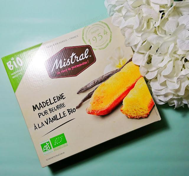 MEILLEUR PRODUIT BIO 2019 : Madeleine pur beurre à la vanille bio, Mistral.