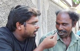 Settaiyan Karthik with Palanisamy SK 16 | Smile Settai