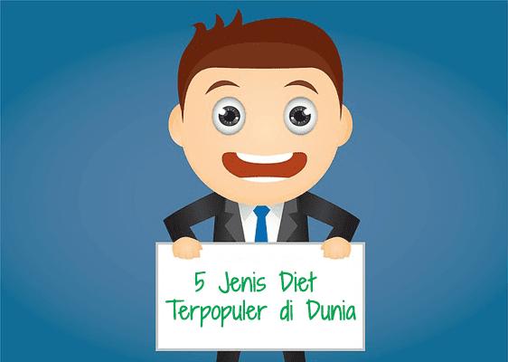 5 Jenis Diet Terpopuler di Dunia