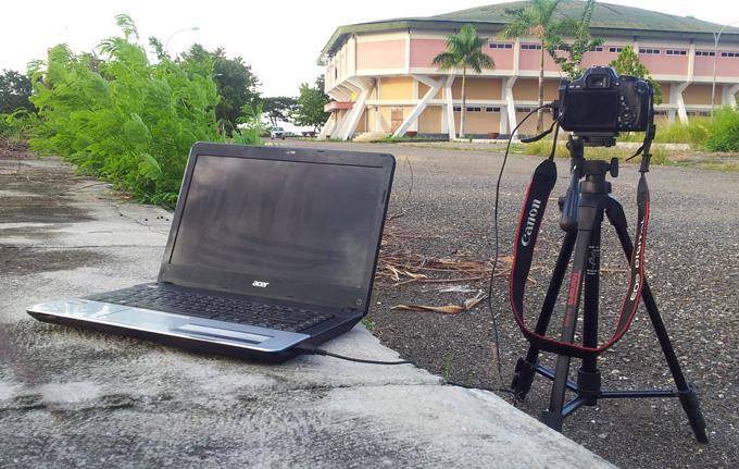 Trik Memotret Menggunakan Laptop Sebagai Remote Shutter