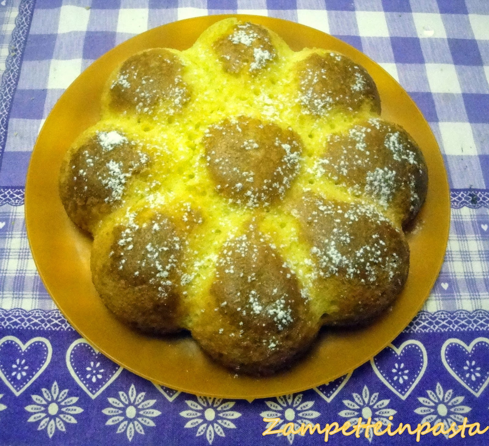 Torta al succo d'arancia senza burro - Dolce con le arance
