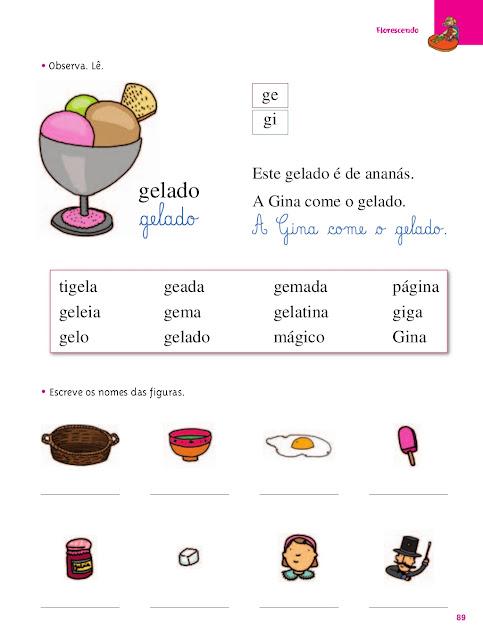 palavras com ge e gi