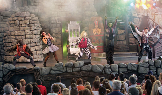 Beetlejuice's Graveyard Revue Universal Studios Orlando