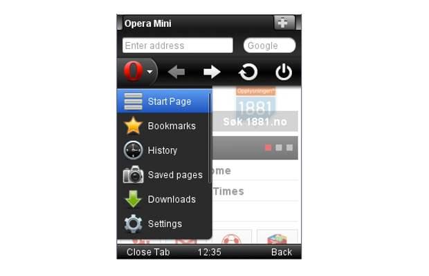 opera mini pour samsung gt-s5233w gratuit