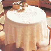 """Mantel """"Arte y diseños combinados"""" a Crochet"""