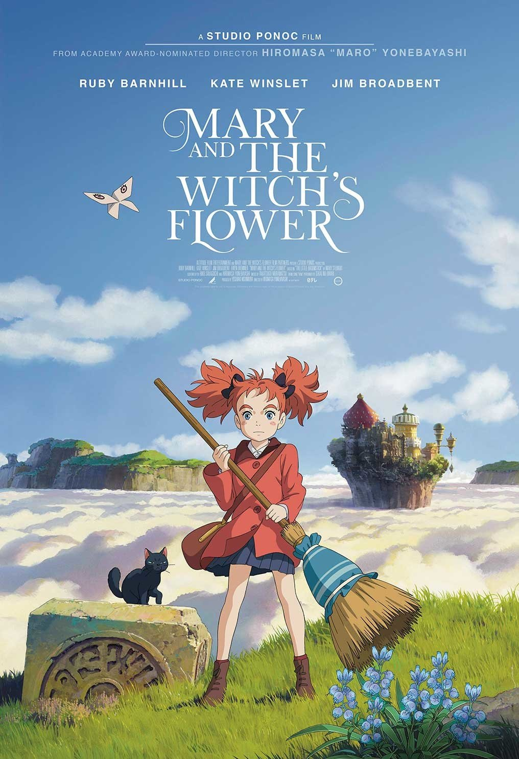 Xem Phim Mary và Đoá Hoa Phù Thuỷ - Mary And The Witch's Flower