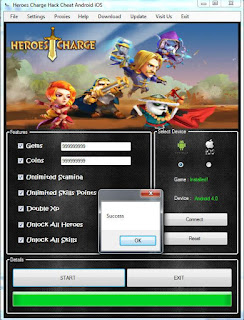 heroes charge cheats & hack