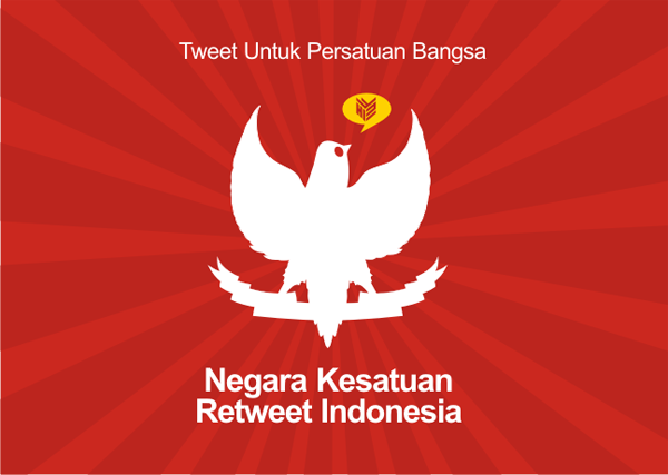 [DESIGN AND CREATIVITY]  NKRI, Negara KEsatuan Retweet Indonesia, Sudjiwo Tedjo
