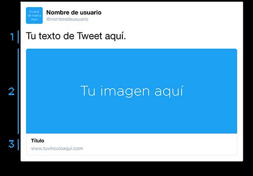 Consigue más tráfico en #Twitter - Website Card