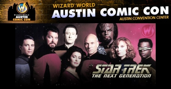 Wizard World Austin Comic-Con 2012 - Star Trek The Next Generation 25th Anniversary Reunion Event