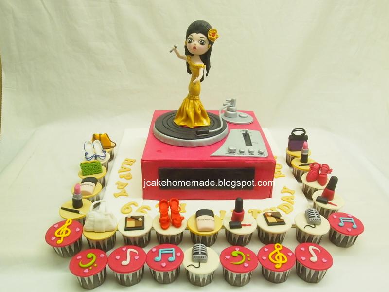 Jcakehomemade Singing Birthday Cake