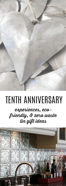 Unique and Eco-Friendly Tin Gifts for your Tenth Anniversary
