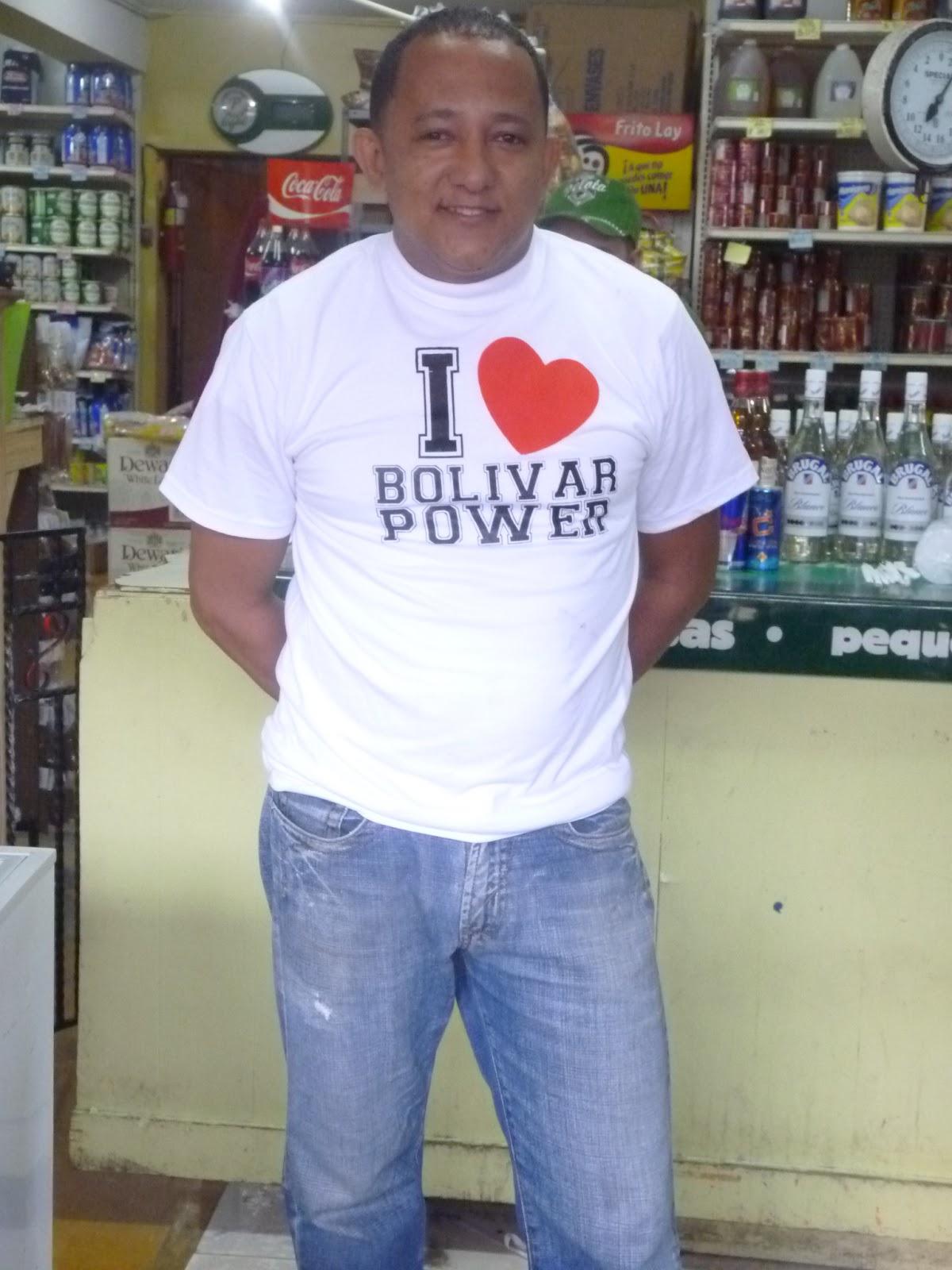 bolivarpower com esta muy agradecido por el apoyo brindado por el senor miguel colmadon con el uso de las camisetas de i bolivarpower bolivarpower bolivarpower
