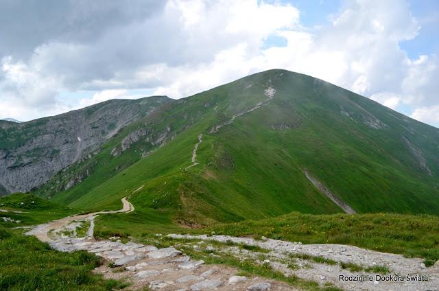 Tatry z dzieckiem- Małołączniak, w masywie Czerwonych Wierchów